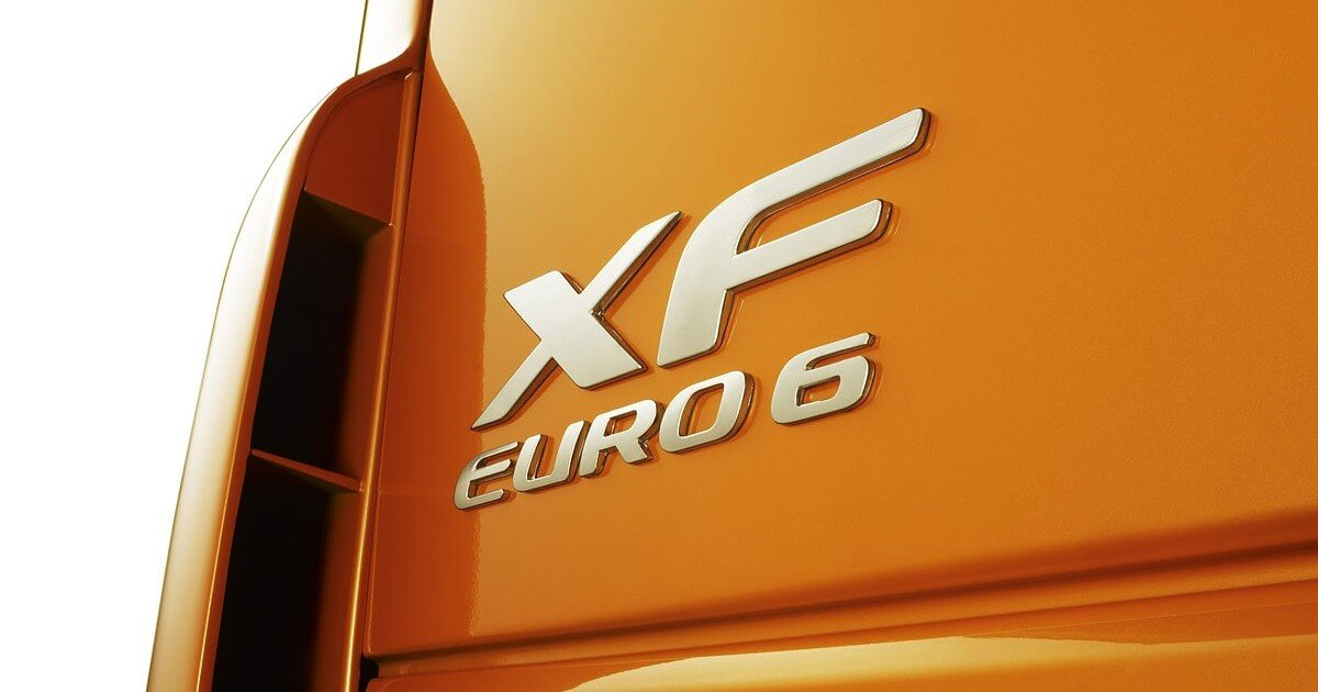 DAF EURO 6 truck front