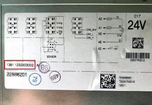 Tachograph data sheet