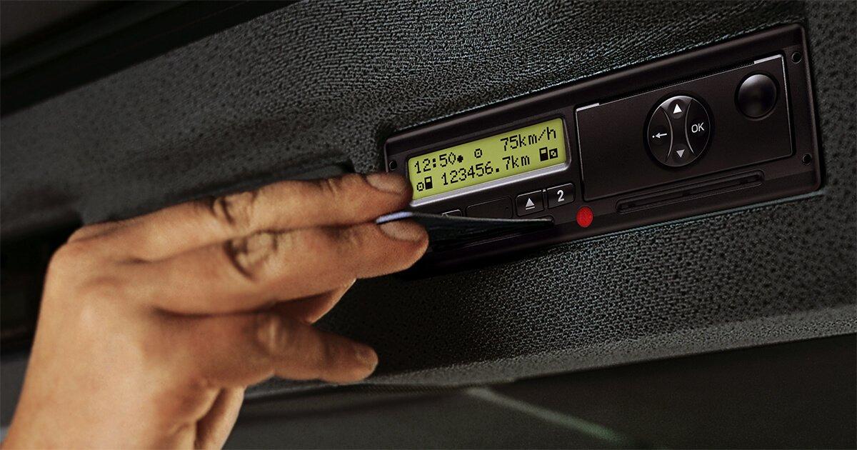 Tachograph simulation